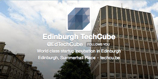 Follow the TechCube on Twitter